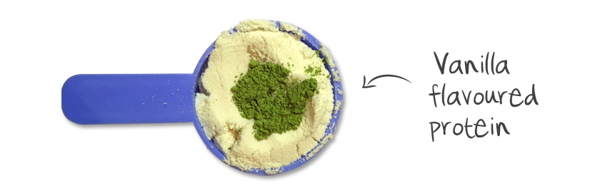 Matcha and Protein Powder
